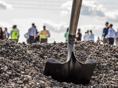 Groundbreaking Ceremony for New Passenger Terminal